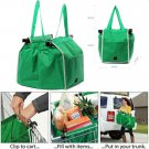 5X Strong Reusable Supermarket Shopping Mall Trolley Tote Grocery Bags Large Bag