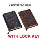 Memo Notebook Lock Locker Key Secret Diary Girls Code Diaries Lockable Padlock