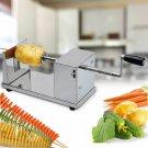 Potato Twister Tornado Slicer Automatic Cutter Hand Crank Machine Spiral Kitchen
