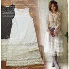 Cotton Lolita Skirt Mori Lace Sleeveless Vest Trim Layer Dress RENDER Entender