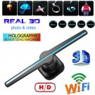 LED 3D Advertise Hologram Wifi Projector Fan Holographic Display Hologram Player