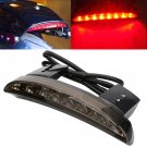 LED Tail Light Smoke Lens Chopped Fender Edge For Harley Davidson Iron Sportster