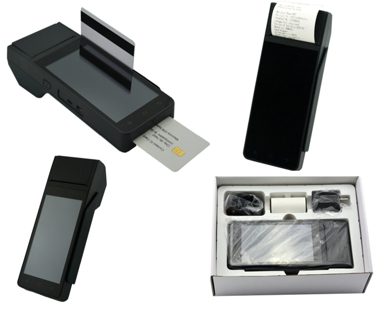 Payment POS Point of Sale Terminal NFC Handheld Printer Barcode Scanner System