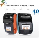Portable New Wireless Bluetooth Thermal Receipt Mobile Printer for Android Phone