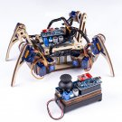 Remote Control Crawling Quadruped Wood Robot Learning Kit for Arduino Nano Board