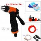 Electric Water gun Pump Kit Pressure Jet Spray Clean Motor Car Washer Save Water