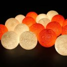 Spice up your life with String light cotton ball