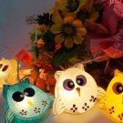 CUTE Owls String Lights White (20 Lights)