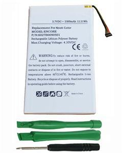 6027B0090501 NOOKCOLOR Battery for Nook Color Tablet BNTV250 BNTV250A BNRV200
