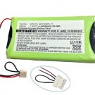 4000mAh Extended ATB-T4 40-210325-17 Battery for RTI T4 & Zig Bee Remote Control