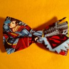 Bow tie men superman clip on cotton pretied superhero