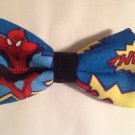 Bow tie men spiderman clip on cotton pretied superhero