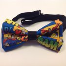 Bow tie men superman comic neckband cotton pretied superhero