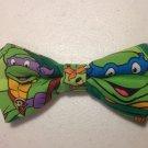 Bow tie men ninja turtles clip on cotton pretied superhero michaelangelo raphael