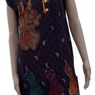 Indian 2 different kurti kashida print cotton traditional embroidery work (2 Kurti in $19)