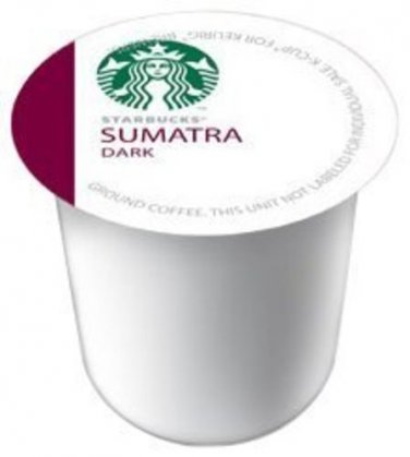 Starbucks Sumatra Dark, K-Cup Portion Pack for Keurig K-Cup Brewers, 10-Count...