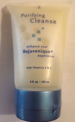 Case~28 bottles of ~REJUVENIQUE Purifying Facial Cleanse  4 oz. w/Vitamins E & C