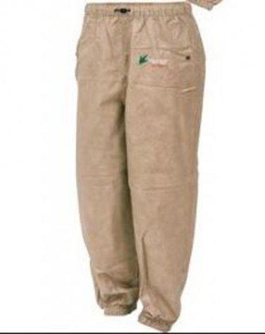 Frogg Toggs Classic Pro Action Rain Suit Pants Khaki Medium