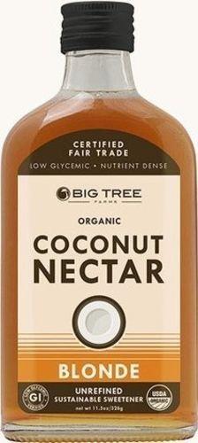 Big Tree Organic Coconut Nectar - Unrefined Sweetener 11.5oz Bottle (Pack of ...