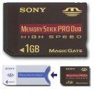 SONY 1 GB Memory Stick PRO Duo for CyberShot DSC Models