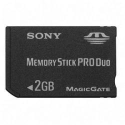 SONY 2 GB Memory Stick PRO Duo for CyberShot DSC Models