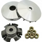 VARIATOR ROLLERS ASSEMBLY YERF DOG 150CC GX150 SPIDERBOX GO KART DRIVE PULLEY