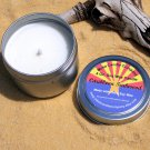 Caribbean Teakwood Scented 4 Oz. Soy Candle