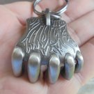 GRIZZLY BEAR CLAW SNUFF CAN LID OPENER-PEWTER COLOR