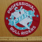 "RARE LARGE 8"" PBR PROFESSIONAL BULL RIDERS PATCH"