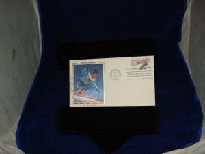 FIRST DAY COVERS 5 COLORADO SILK CACHET # 198005
