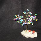 OOAK DYED PEARLS CRYSTAL TREE -  20128868