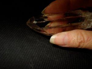 ARKANSAS QUARTZ WINDOWS CRYSTAL POINT-REIKI #20126125