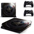 captan america New Design PS4 Console skin sticker decal made pvc