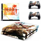 dead islan New Design PS4 Console skin sticker decal made pvc