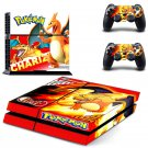 Pokemon PS4 Console skin sticker decal made pvc