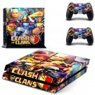 Clash of clans PS4 Console skin sticker decal made pvc