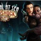 Bioshock infinite burial at sea Silk Fabric Canvas wall Poster