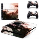 Tokyo ghoul decal for ps4 console & controller sticker