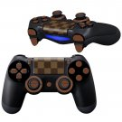 Square Tweed Pattern design PS4 Controller Full Buttons skin