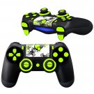 Moss Surface Texture design PS4 Controller Full Buttons skin
