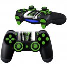 The Riddler design PS4 Controller Full Buttons skin