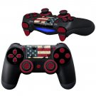 Blood on US Flag design PS4 Controller Full Buttons skin