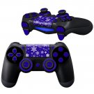 White Flowers Texture design PS4 Controller Full Buttons skin