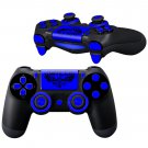 WiLD NavyBlue design PS4 Controller Full Buttons skin