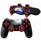 Car Race design PS4 Controller Full Buttons skin