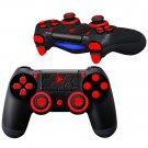 Hexagon Block design PS4 Controller Full Buttons skin