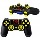 Red Hands Prints design PS4 Controller Full Buttons skin