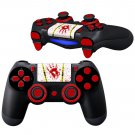 Gory hands prints design PS4 Controller Full Buttons skin