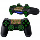 Flowers Texture design PS4 Controller Full Buttons skin