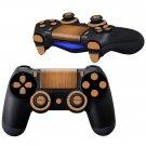 Wooden Sheet design PS4 Controller Full Buttons skin